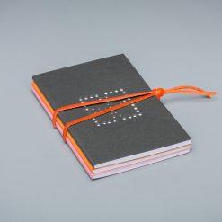pack 2 - black, orange,pink
