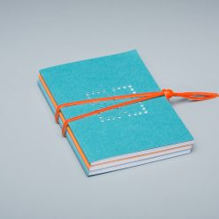 pack 4 - denim, orange, sky blue