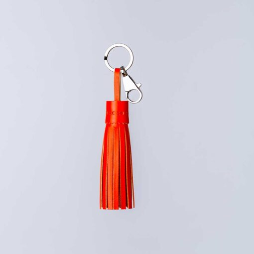 keyring in orange